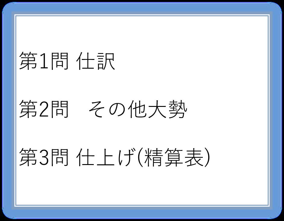 【2017年合格目標】簿記2級論(4)商業簿記