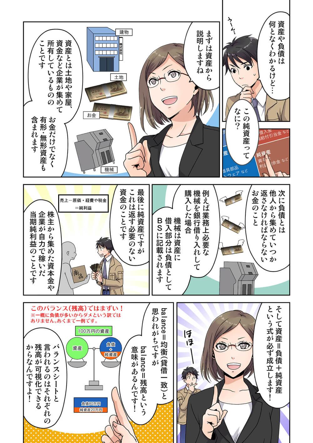 【マンガ】3連休スペシャル・三角関係の駆け引きは恋のバランスシート(4/4)