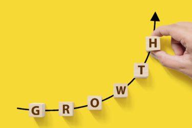 【経済・統計グラフ】うすのろSlowと成長Grow