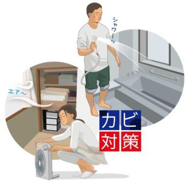 梅雨にマストのカビ対策【A~Eランク:情報(第2章ソフトウェア開発)】